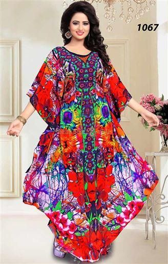 edca6742df05 Plus Size Women Cover Up Caftan maxi Dress | Kurtis Kaftans Tunics ...
