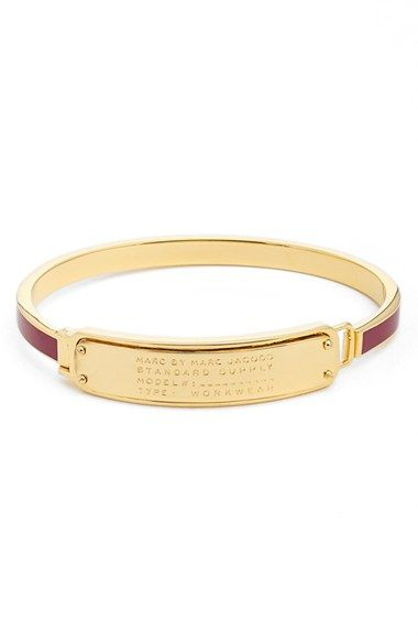 MARC BY MARC JACOBS 'Standard Supply' Hinge Cuff Bracelet available at #Nordstrom