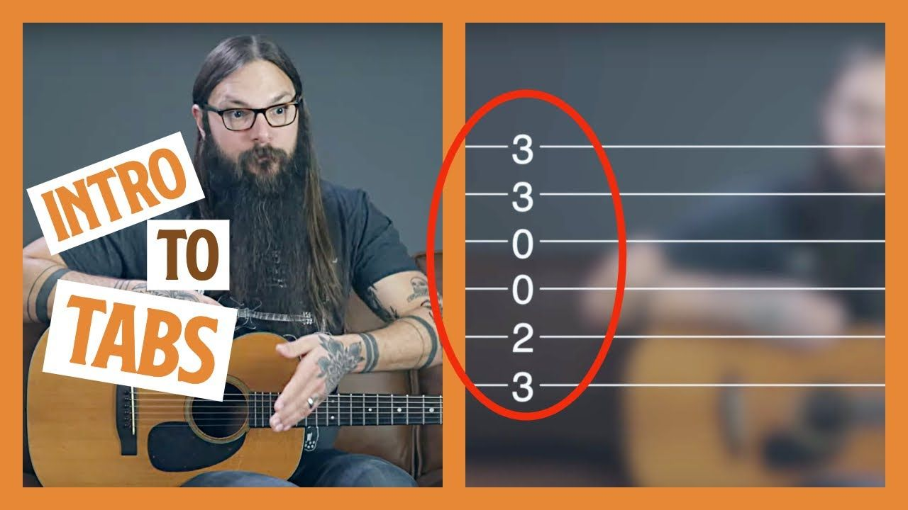 How to read guitar tab guitar tablature for beginners in