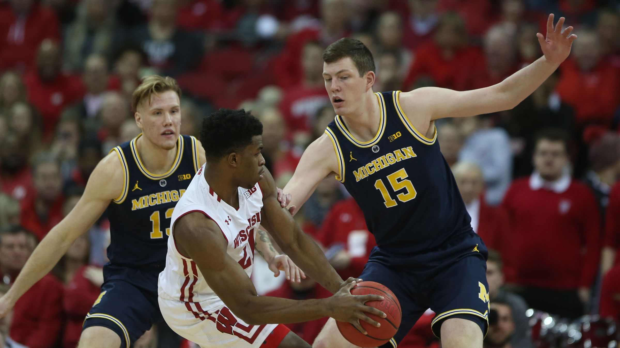 Michigan Basketball Upset By Wisconsin 64 54 For 1st Loss Of