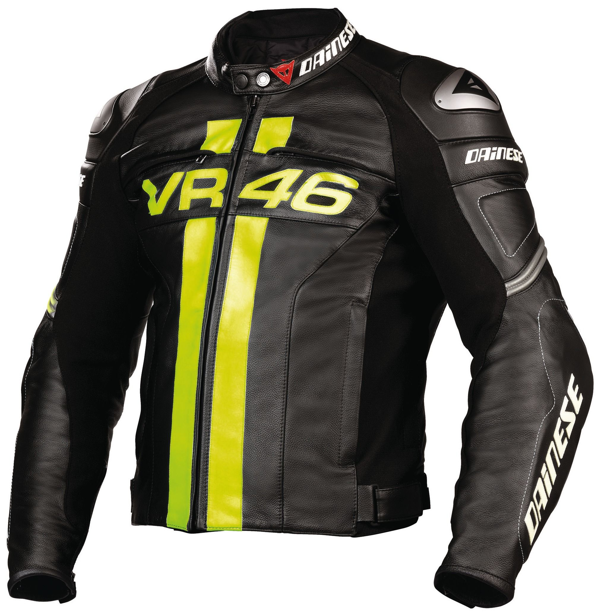 Dainese Vr46 Leather Jacket Size 54 Motorcycle Racing Jacket Motorcycle Jacket Motorbike Jackets