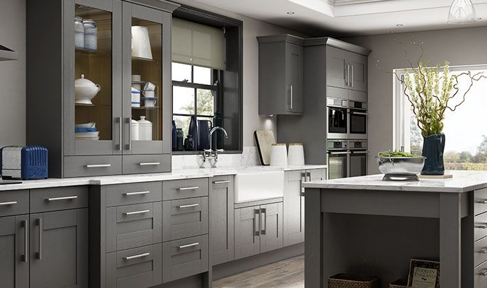 Kitchen Ordered Tiverton Slate Kitchen Wickes Co Uk With Images Slate Kitchen Wickes
