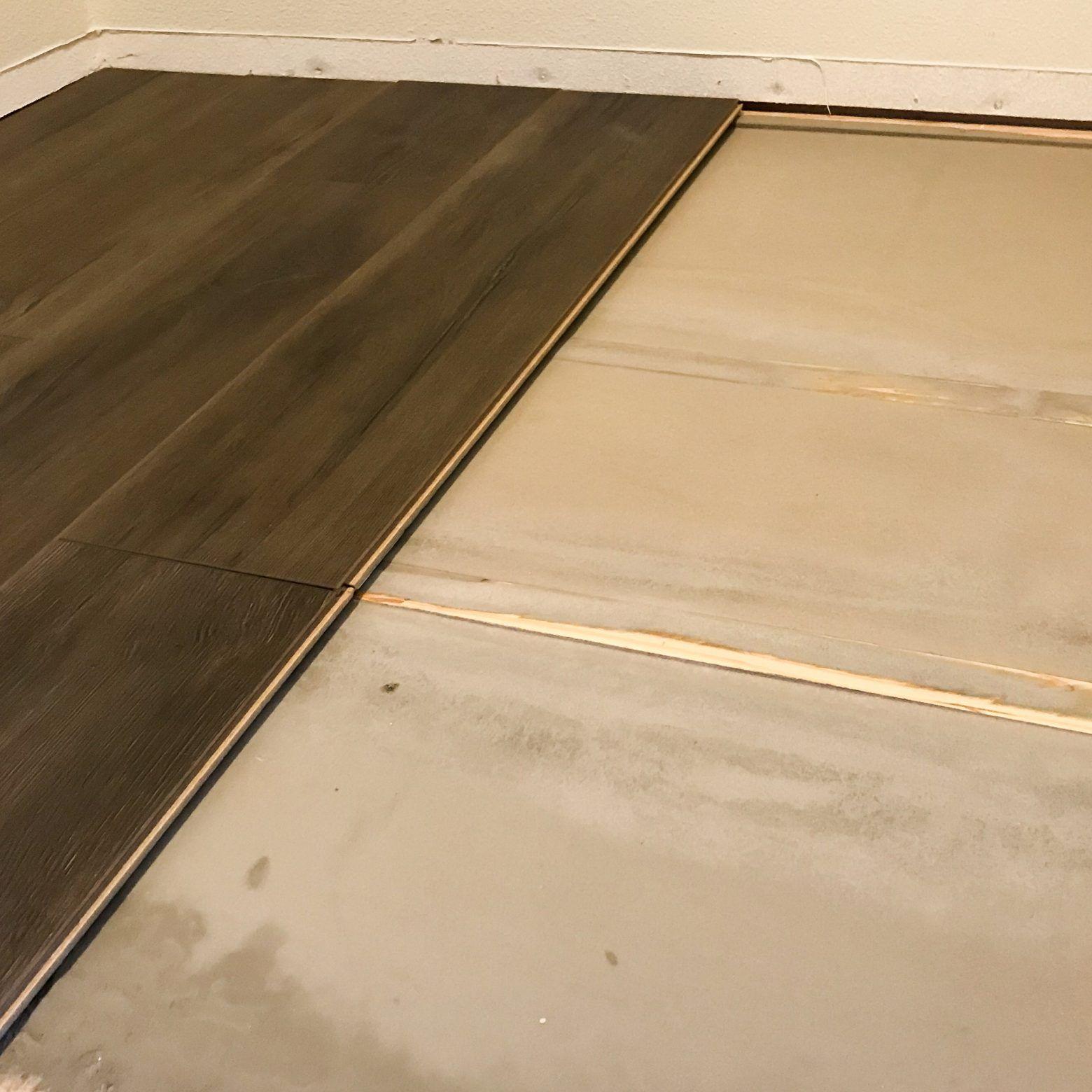 how to fix an uneven subfloor  diy home improvement home