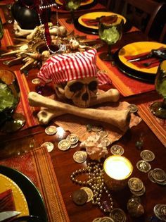 Adult pirate party decorations - photo#32