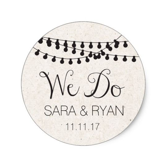 Personalized thank you stickers wedding favors round sticker click through to find matching games favors thank you cards inserts decor and more