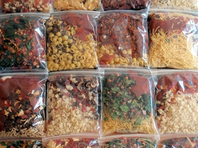 How to create a dehydrated meal plan for your next backpacking trek.  I'm passing this one on!