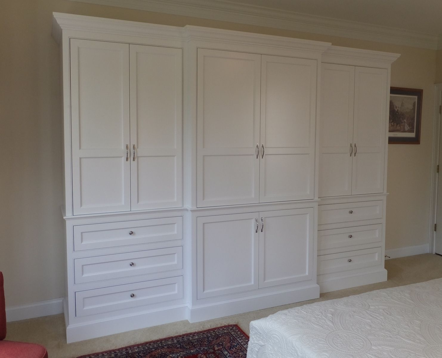Custom Made Built-In Wardrobe Armoire
