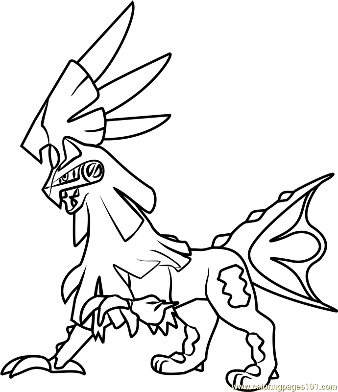 Pokemon Coloring Sheets Sun And Moon