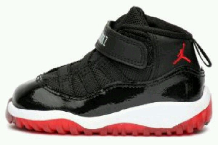 Les Jordan Fire Red 4 pour petits pieds ! #swagg #nike