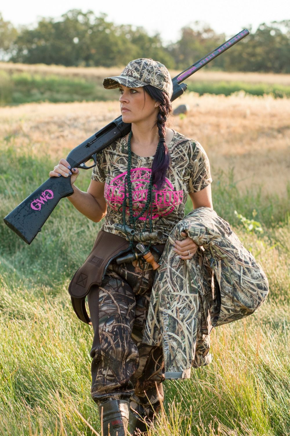 c5ae85a77d45d The Girls With Guns Clothing Waterfowl Hunting Gear was designed by women,  for women.