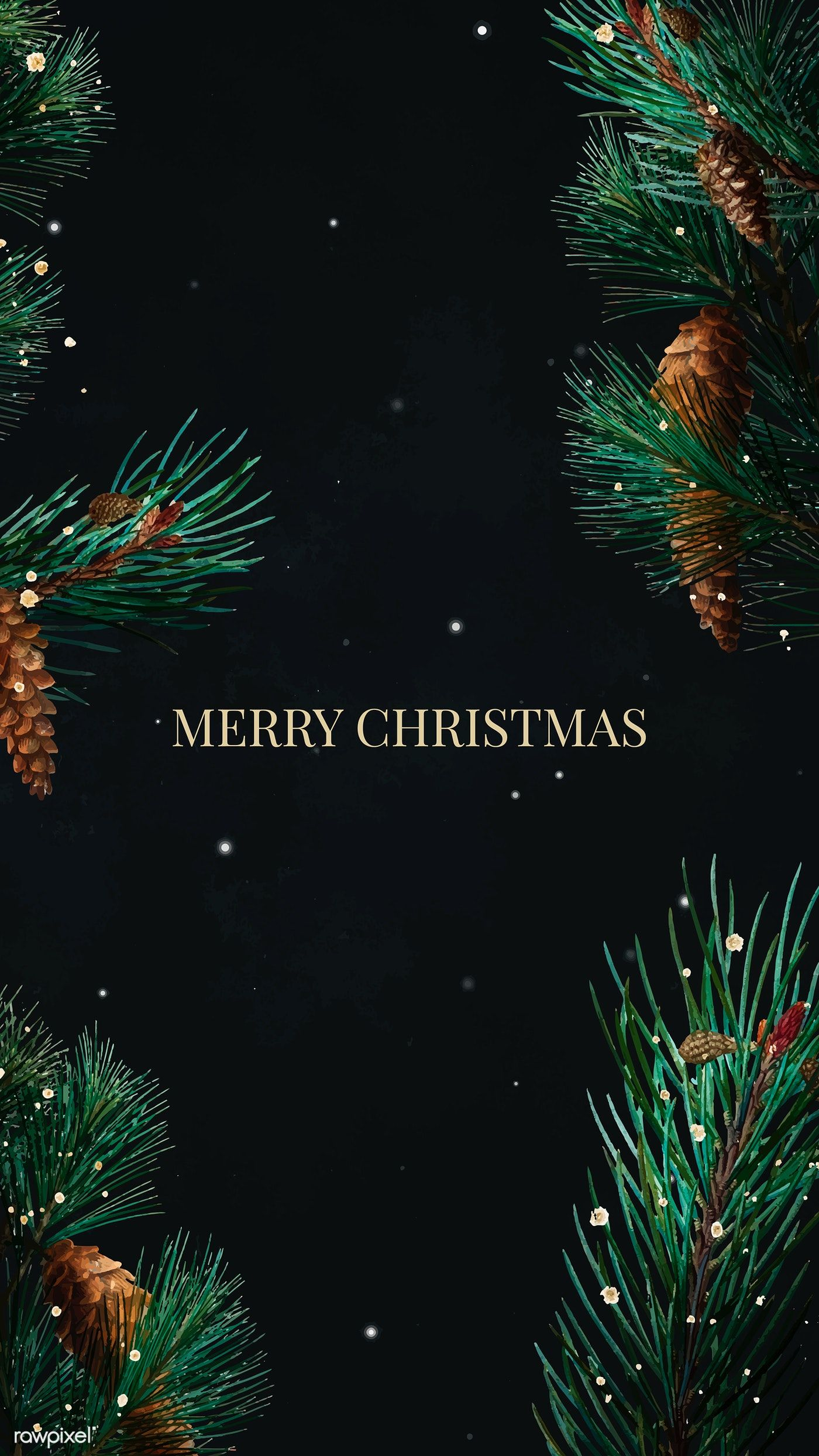 Download Premium Vector Of Fesitve Merry Christmas Mobile Wallpaper Vector Merry Christmas Wallpaper Christmas Wallpaper Christmas Wallpaper Hd