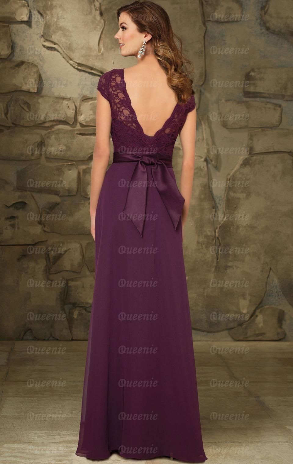 2015 Eggplant Bridesmaid Dress BNNCG0014-Bridesmaid UK | Chelsea\'s ...