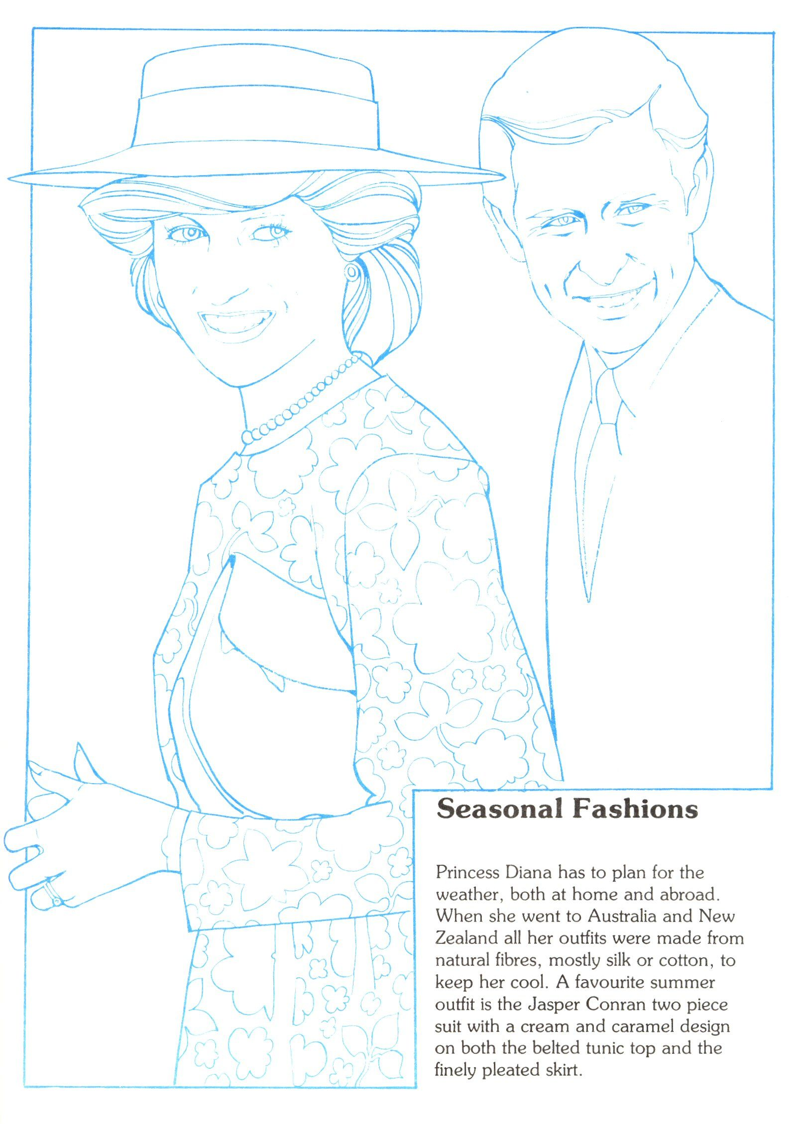 Princess Diana Fashion Collection Book 3 Social Studies Culture