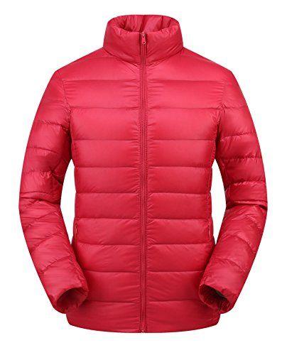Womens Winter Packable Ultra Light Down Jacket Lightweight ...