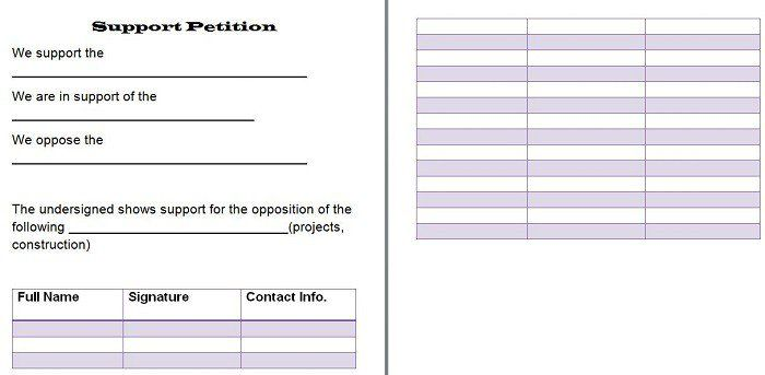 Petition petition Template Pinterest - petition sign up sheet template