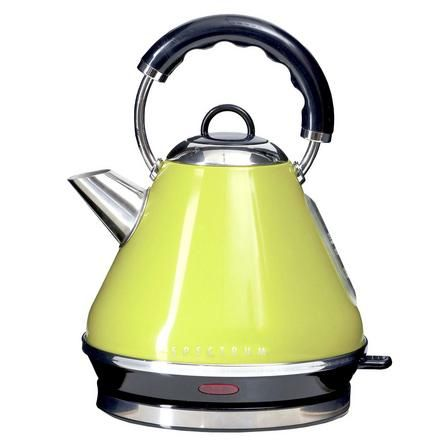 Spectrum Lime Pyramid Kettle Dunelm Kettle Dunelm Small Kitchen