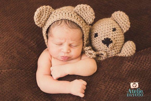 amigurumi urso pardo com cachecol. | Urso pardo, Urso de crochê, Urso | 387x580