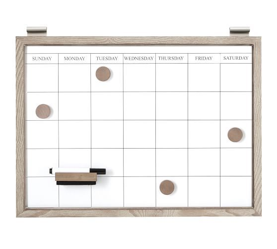 Daily System Magnetic Whiteboard Calendar Pottery Barn