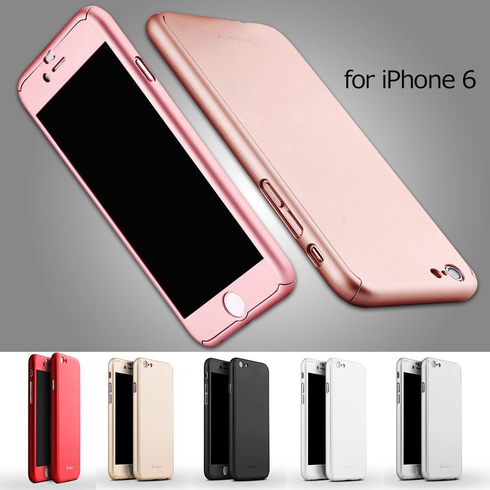 Ipaky case per iphone 6/6 5s coperture del telefono mobile della copertura da 4.7 pollici protezione completa casse del telefono per iphone 6 4.7 dura del pc del telefono shell