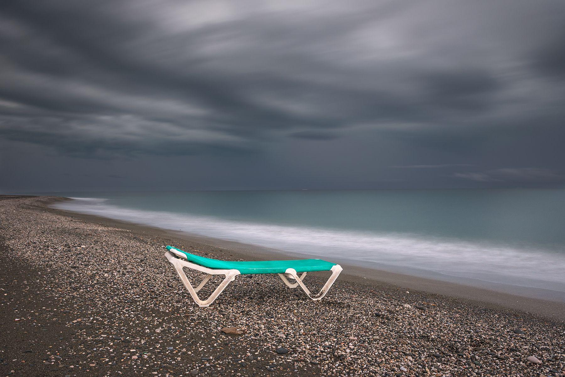 Tumbona de  playa