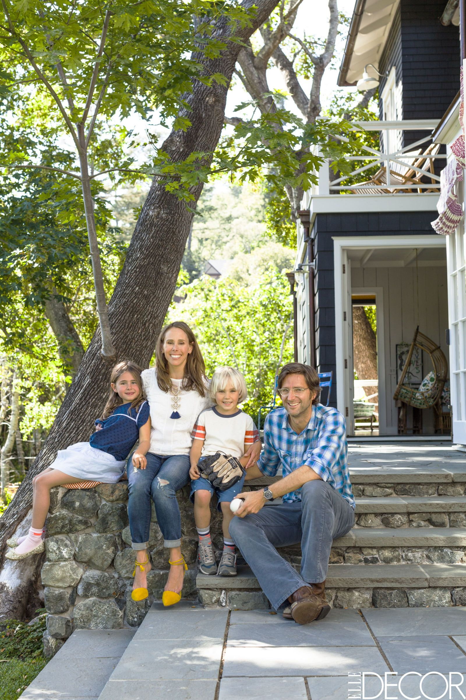 House Tour An Abandoned Summer Camp Becomes An Eclectic Family Home
