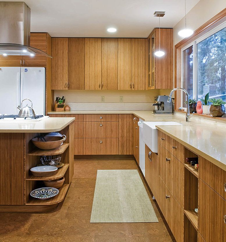 Bamboo Kitchen Cabinets Are An Eco Friendly Solution Bamboo Kitchen Cabinets Kitchen Island With Drawers Kitchen Cabinets