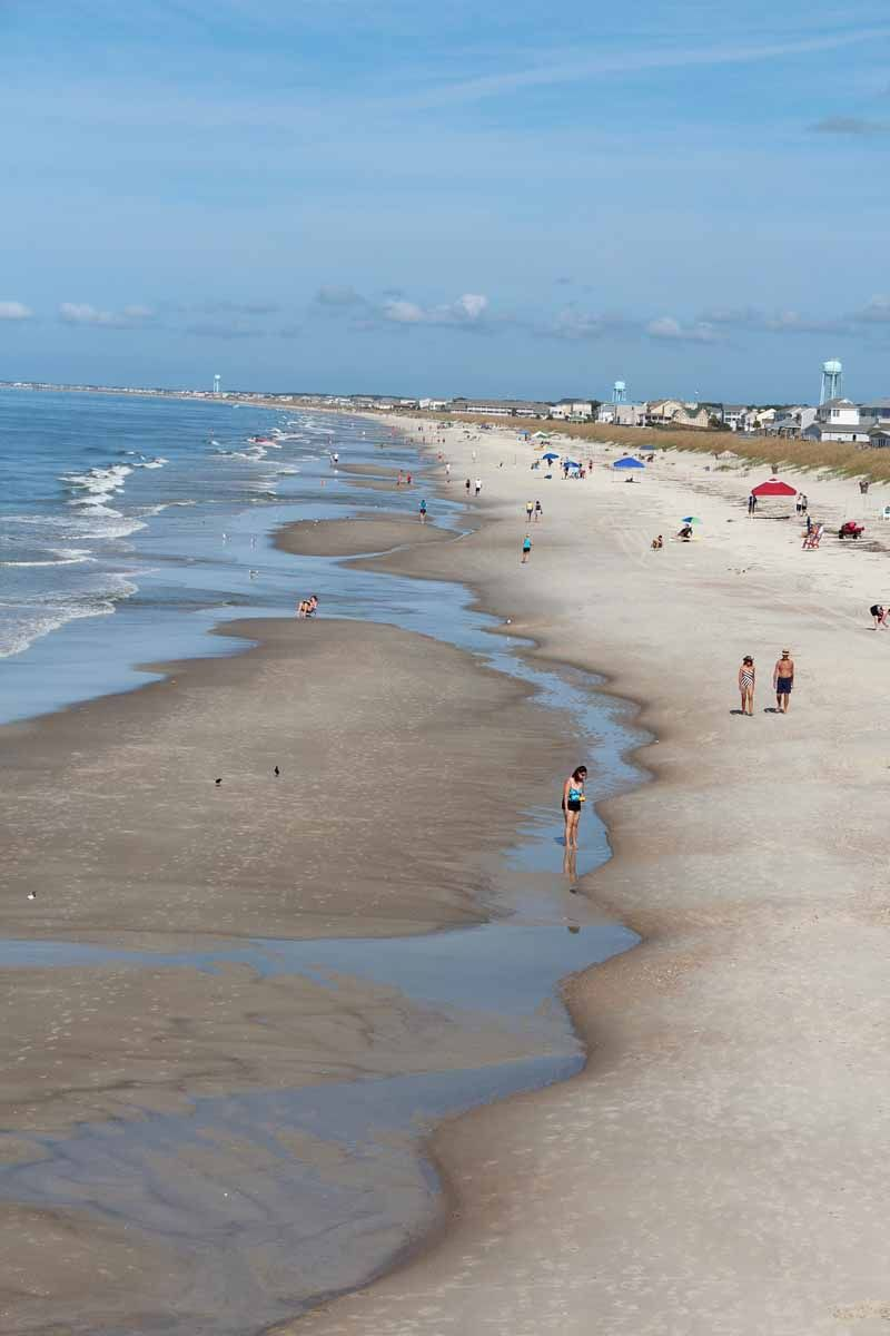 Many Of The Beach Scenes In Nicholas Sparks Safe Haven Were Shot On Oak Island