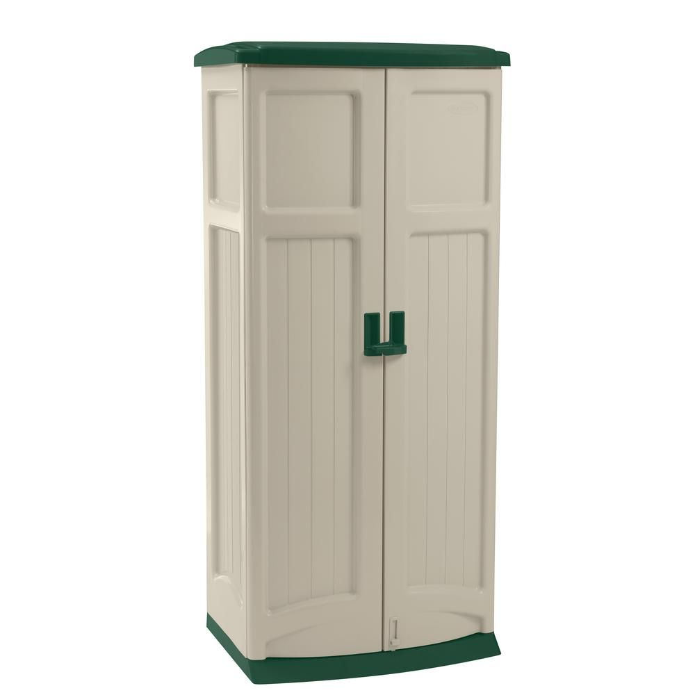 suncast 2 ft 9 in x 2 ft resin vertical storage shed gs1250 the rh pinterest com