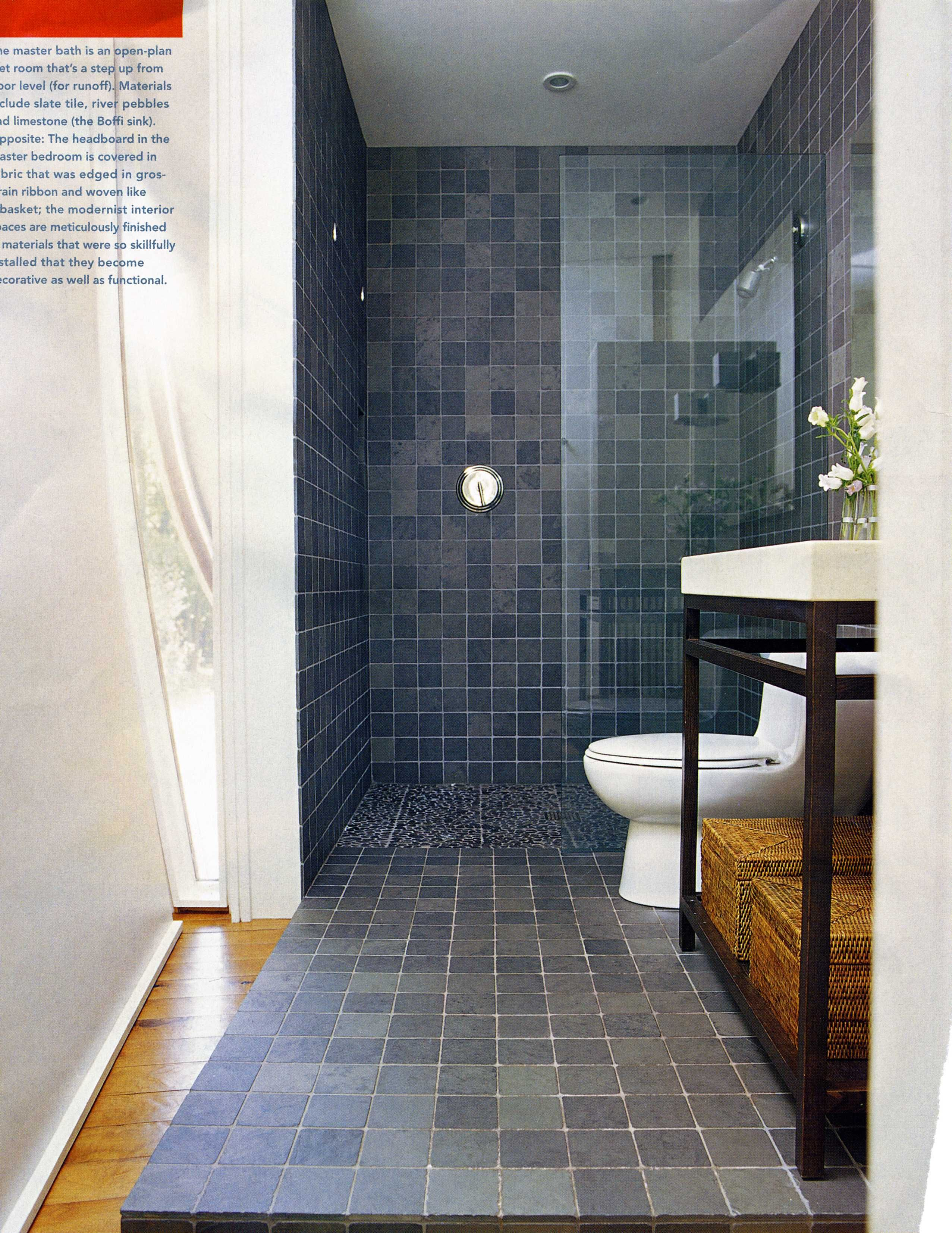 variation in tile love this Slate Bathroom Bathroom Colors Downstairs Bathroom Bathroom