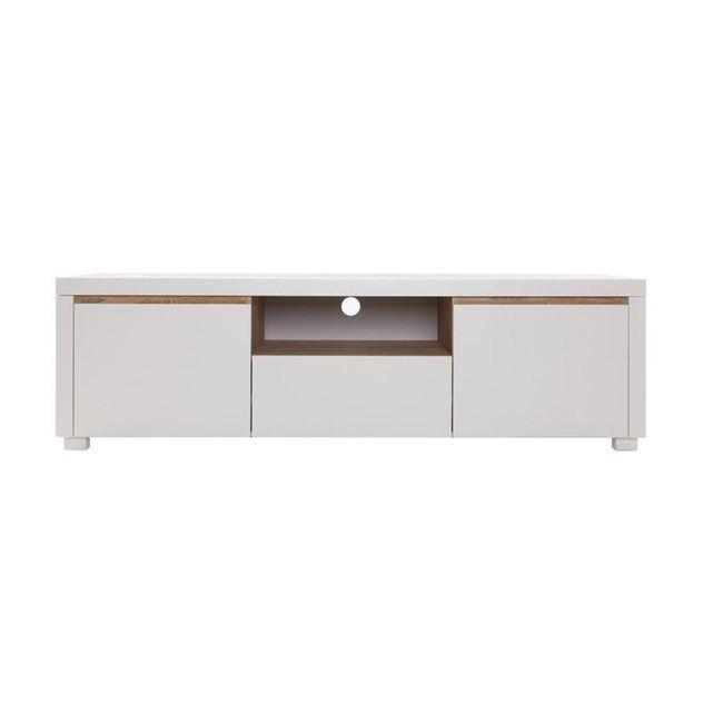 Meuble TV design blanc mat SIGRID MILIBOO  prix, avis  notation