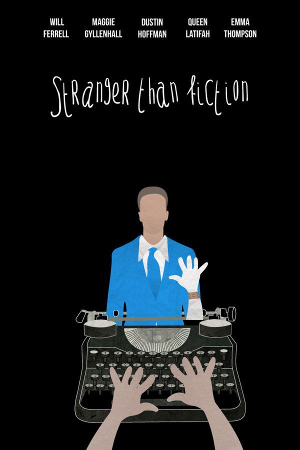 Stranger than Fiction Movie posters/ Fan art by Luigy Haddock, via Behance