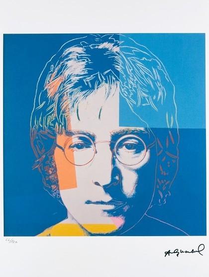 John Lennon 1 Art Consulting In 2020 Andy Warhol Pop Art Artist Warhol Art