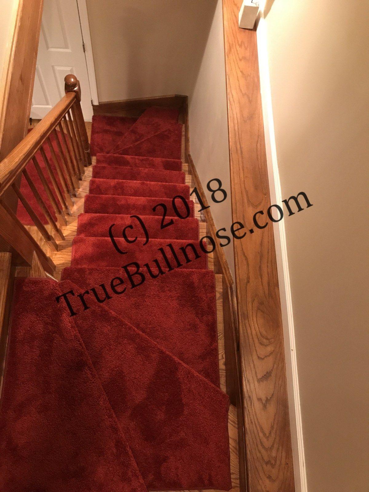 True Bullnose™ Photos True Bullnose™ And True Flat™ Padded   True Bullnose Stair Treads   Rug Runner   Stair Runner   Flooring   Basement Stairs   Comfort Safety