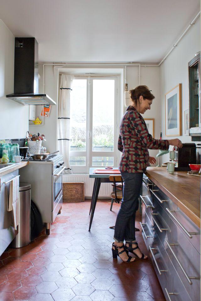 les 25 meilleures id es de la cat gorie tomette rouge sur pinterest carrelage rouge tommette. Black Bedroom Furniture Sets. Home Design Ideas