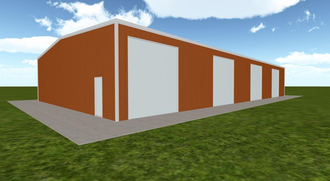 Pre Engineered 50x100 Metal Buildings With Living Quarters Codes Metal Buildings Building Warehouse Design