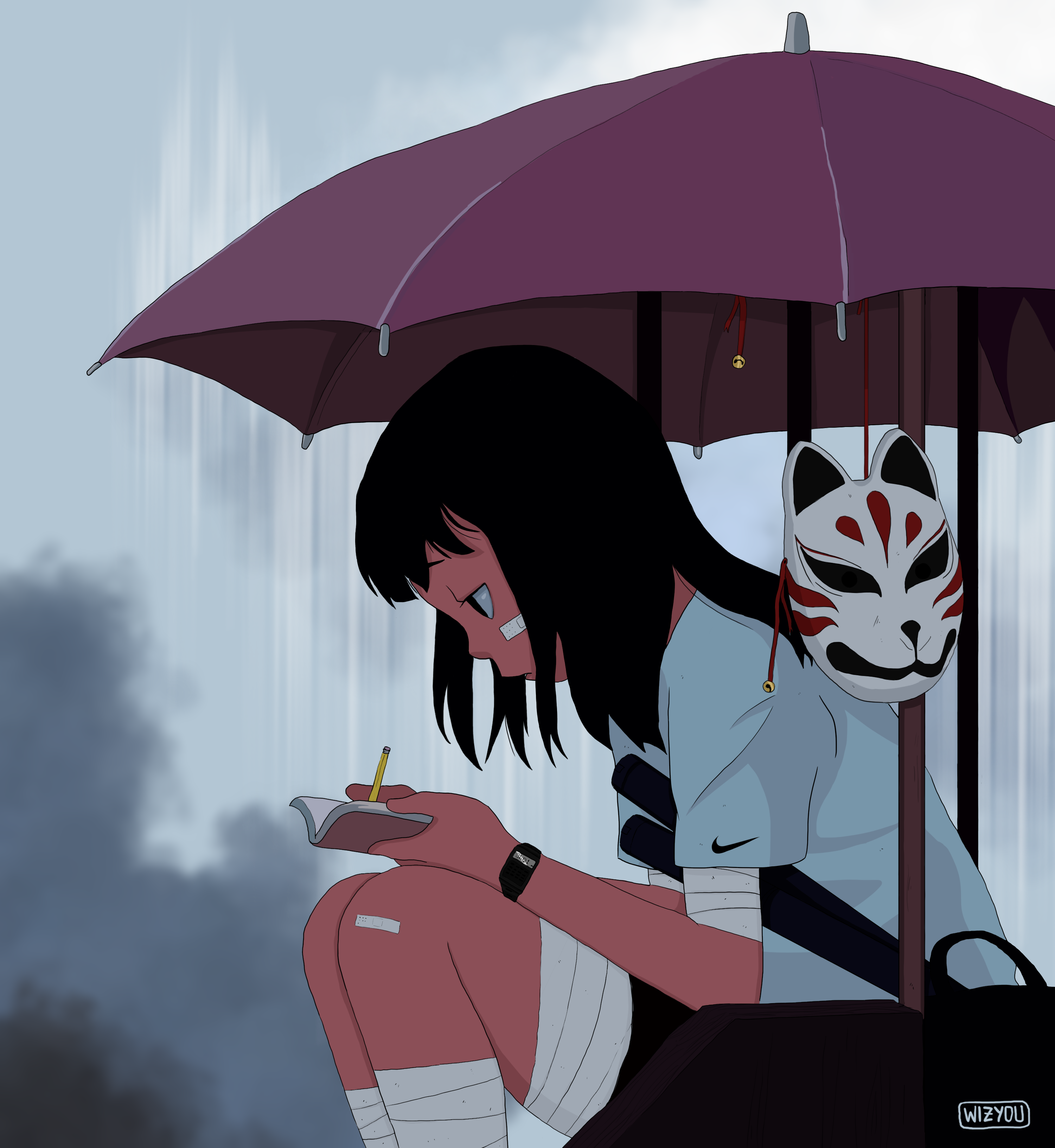Sad Anime Aesthetic Pictures