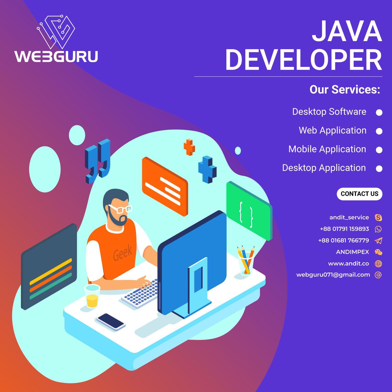 Java Developer Web Development Design Web Design Services Personal Website Design