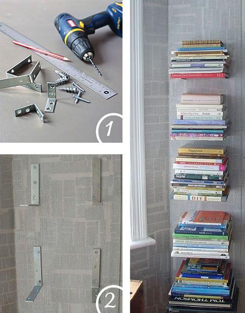Originales libreros para hacer en casa guia de for Libreros originales