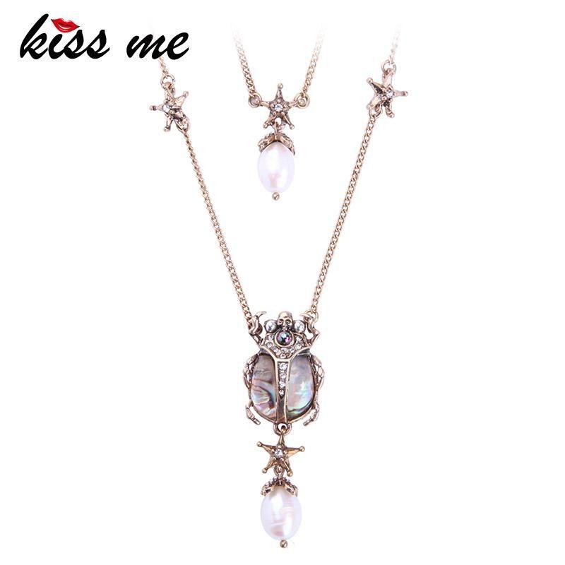 54x33mm Dragon Pendant Necklace For Women Antique Silver Color Vintage Leather Chain Necklace Jewelry & Accessories Pendant Necklaces