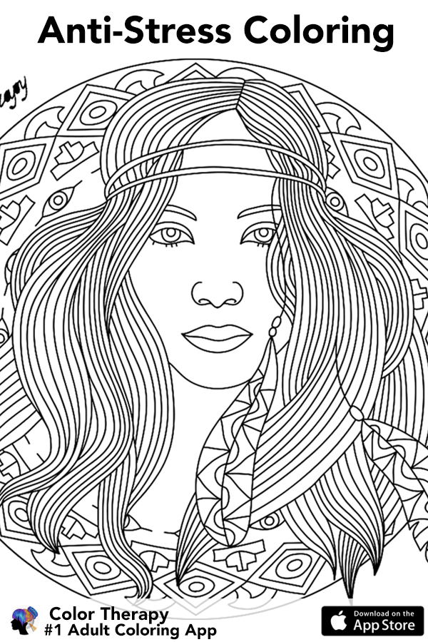 Join Millions Of Adults Who Love Coloring It S So Relaxing Pam A Color Therapy Blank Coloring Pages Fairy Coloring Pages