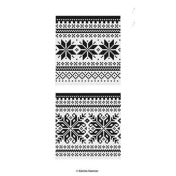 Knitting Pattern Beautiful Norwegian Sweater Instant Digital