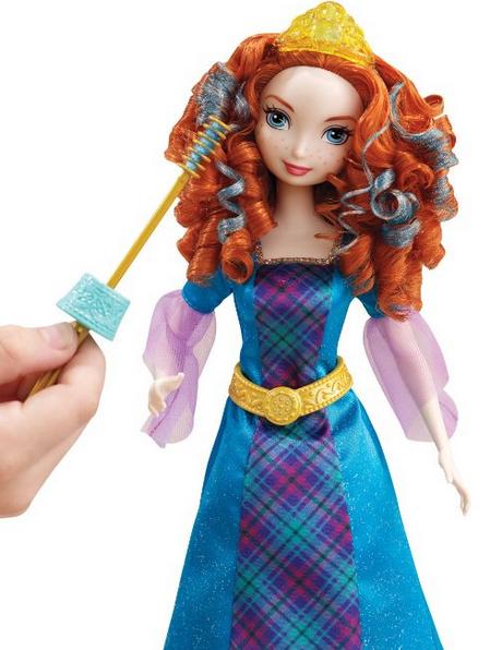 Disney Princess Rizos coloridos Mérida muñeca por sólo $ 6,99!