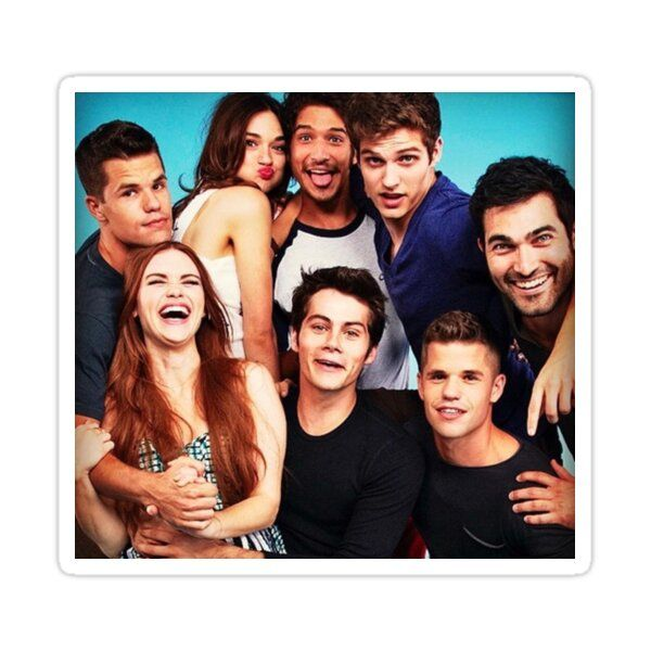 Teen Wolf Cast Sticker by vardehali