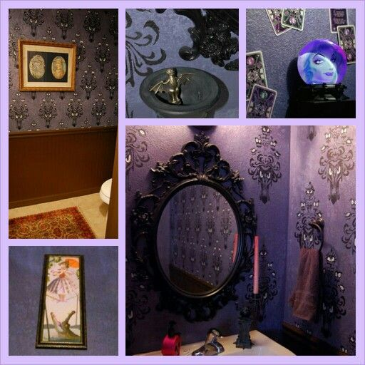 Pin By Tara Gensinger On Decorate Disney Style Haunted Mansion Decor Disney Home Decor Disney Themed Rooms