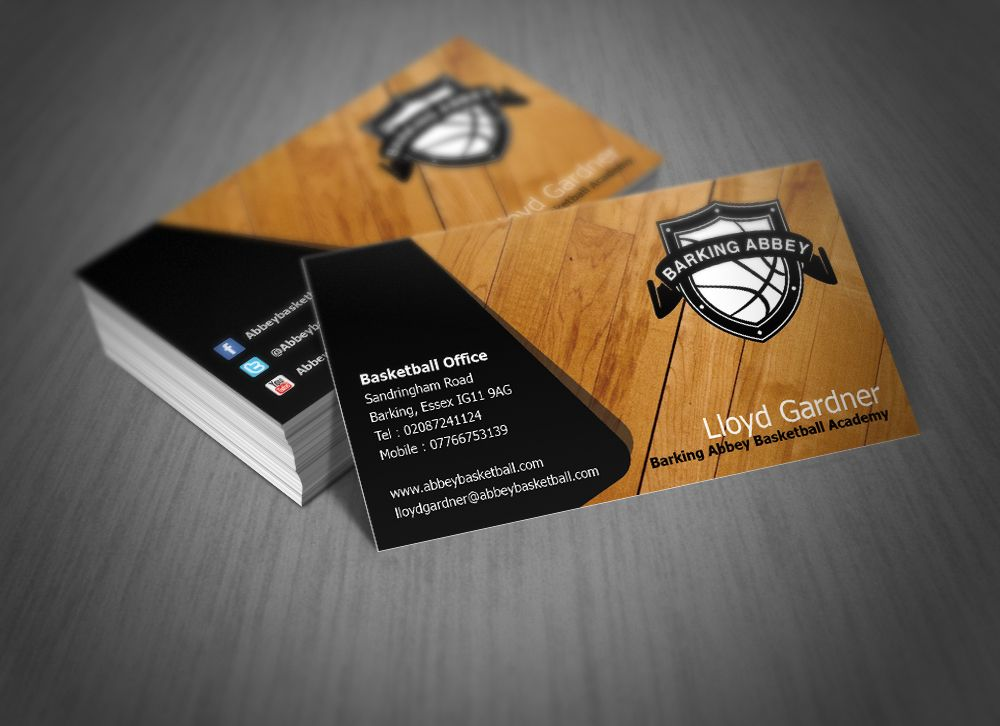 Cool Basketball Business Cards Gallery - Business Card Ideas ...