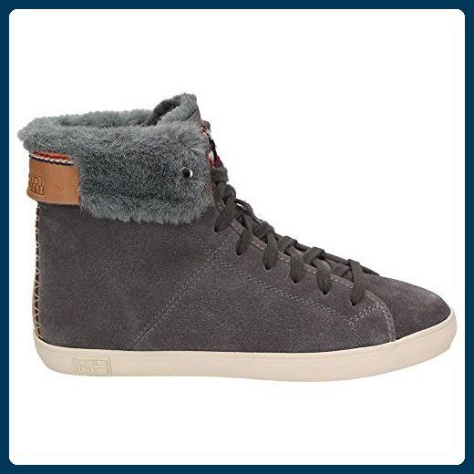 Napapijri Asta Mädchen Damen Zapatos Leder Winter  Zapatos Damen  Sneaker Warmfutter blau 5978bf
