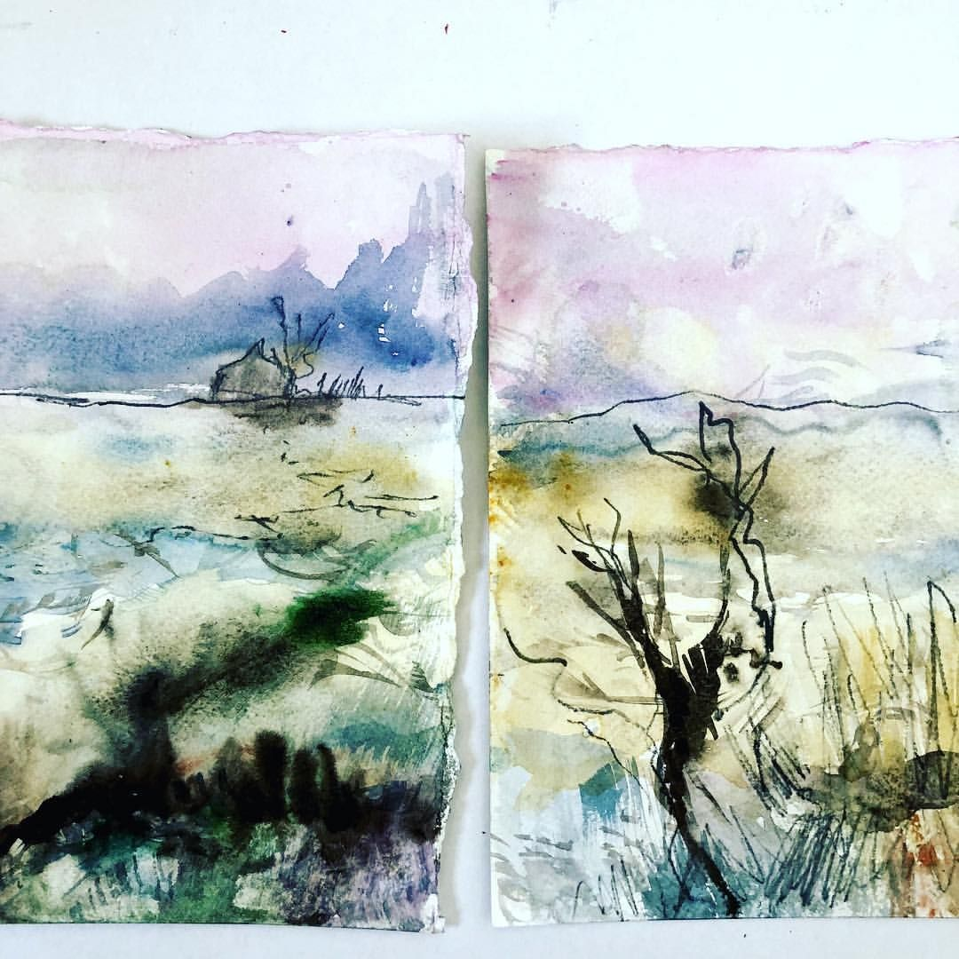 Some Experimental Little Landscapes I M Definitely Going All