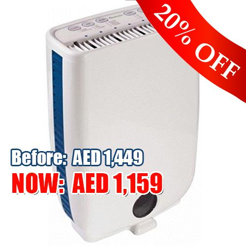 Dehumidifier : Meaco DD8L AED 1159 instead of AED 1449 for a Dehumidifier and a chance to WIN a free humidity level monitor! FREE DELIVERY within DUBAI. Get this offer while it lasts! #Dehumidifier #allergy #Dubai
