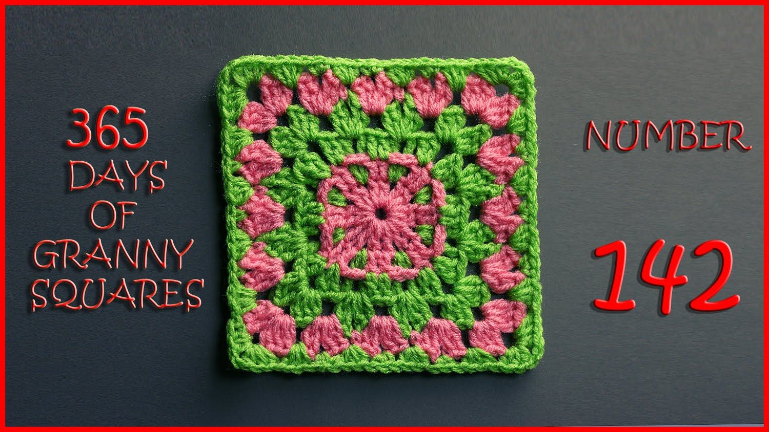 365 Days of Granny Squares Number 142 | crochet | Pinterest ...