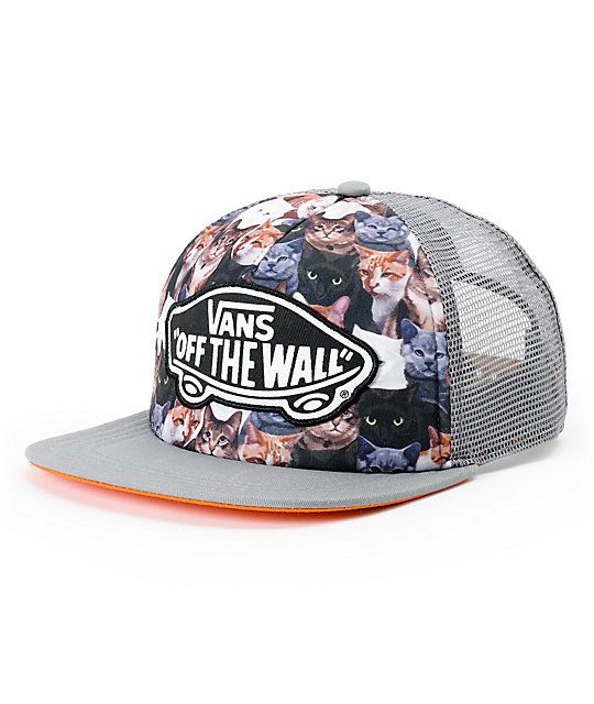 f0ac57ffe9 The ASPCA x Vans Girls Beach Girl Cat trucker hat is for the ultimate  animal person